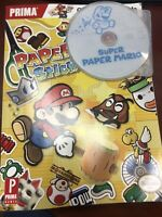 Super Paper Mario - Disc Only (Nintendo Wii) & Official Game Guide (no Stickers)