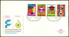 Netherlands 1972 Arts Festival, Flower Show FDC First Day Cover #C27457