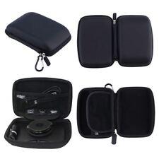 """For TomTom Start Via 53 5"""" Hard Case Carry GPS Sat Nav Black"""