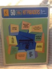 Music Book 50 All Time Hit Paraders Song Book Piano W/Guitar Chords