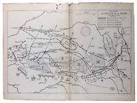 La Bataille de la Marne 1914 Epernay Montmirail Sezanne Sompuis Vitry Lizy Acy