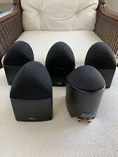 New listing Five Mirage Nanosat 5.1 Satellite Speakers & Omni S8 Powered Subwoofer