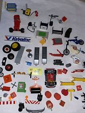 PLAYMOBIL Auto Mechanic Repair Tires Race Car Fix It Shop Random Mixed HUGE LOT