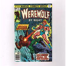 Werewolf By Night #41 Grade 9.4 Bronze Age horror presented by Marvel!