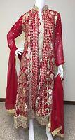 Party Salwar Kameez Pakistani Indian Wear Suit Designer Shalwar Ethnic Dress L