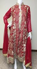 Party Salwar Kameez Pakistani Indian Wear Suit Designer Shalwar Ethnic Dress L