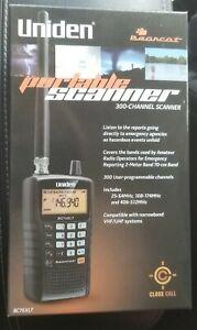 Uniden BC75XLT, 300-Channel Handheld Scanner, Emergency, Marine, Auto Racing, CB
