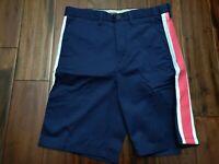 Acne Gere Shorts Pink Stripe Men's 32 Waist