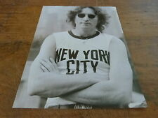 JOHN LENNON - Mini poster Noir & blanc !!!