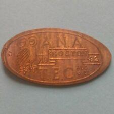 A.N.A. 19 Boston 82 T.E.C. Owl Elongated 1982 Copper Penny Fb Version #2
