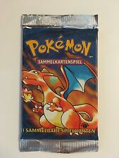 Pokemon 1ST EDITION Base Set GERMAN Booster Pack UNOPENED Sealed - BLASTOISE Art