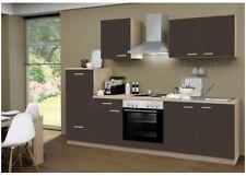 Küchenblock mit Elektrogeräten Classic 270cm breit In Lava