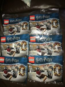 6 LEGO 30407 HarryPotter Wizard World Harry's Journey To Hogwarts NEW Wedwig Owl