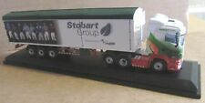 OXFORD DIECAST SCANIA HIGHLINE WF EDDIE STOBART 1:76 SCALE ASCOT CHAMPIONS DAY