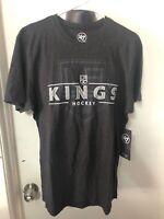 '47 Brand Los Angeles Kings Men's Medium Shirt Nhl Hockey Grey New