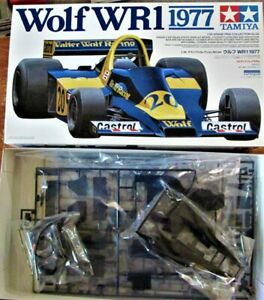 MODEL KIT: 1/20 TAMIYA WOLF WR1