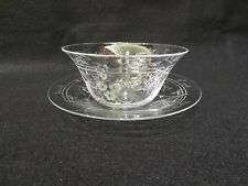 WEBB CORBETT INTAGLIO FINGER BOWL AND UNDER PLATE # 2