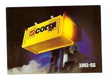 """Catálogo/Catalogue """"Corgi 81/82"""", versión alemana, como nuevo/nearly New!"""