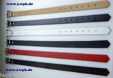 4 Blu Cinghia di Fissaggio Fascia 60 x 2,5 cm Cintura pelle Cinturino