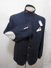 Daniel Cremieux Men's Coat Blazer Elbow Patch Pocket Linen Cotton Navy Sz L $150