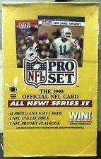 1990 Pro Set Football Factory Sealed Box Series 2 Emmith Smith Rookie 10?? 36ct
