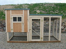 Chicken coop framing plan with material list, The Coop DeVille