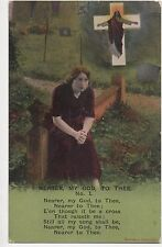 POSTCARD  SONG CARDS  Nearer to my God to thee (1)