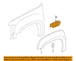 Cadillac GM OEM 07-14 Escalade Fender-Grille Right 22761801