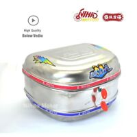2018 Hot Motorcycle Scooter Top Case Stainless Steel Tail Box Luggage Trunk