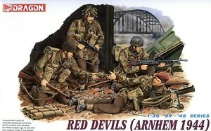 Dragon 1/35th Scale Red Devils Arnhem 1944 Figure Set No. 6023