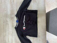 champion cropped hoodie / jumper