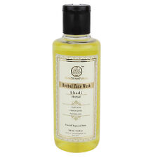 Khadi Herbal Face Wash For All Skin Natural Face Cleanser 210 ml