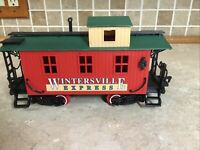 New Bright Train Wintersville Express No.182. G Scale CABOOSE