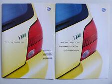 PROSPEKT VOLKSWAGEN VW LUPO 3 L TDI, 6.1999, 20 pagine + dati/attrezzature