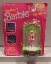 """NEW SEALED- MINIATURE BARBIE COLLECTIBLES """"CALIFORNIA DREAM 1988"""" #7478 TOPPER"""