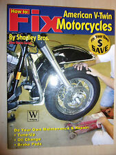 How to Fix American V-Twin Motorcycles (Biker Basics Series) BOOK MANUAL GUIDE
