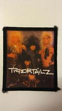 Tigertailz logo RARE music rock hardrock Sew On aufnaher glamrock patch
