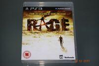 Rage PS3 Playstation 3 **FREE UK POSTAGE**