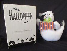 Avon Halloween Glowing Ghost Plushees Stuffed Fiber Optic Window Clinger Hanger