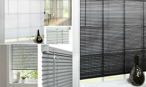 PVC Venetian Blinds Trimable Easy Fit Home Office Window VENETIAN Blind All Size