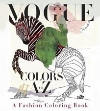 BN Vogue Colors A to Z: A Fashion Coloring Book (Paperback)
