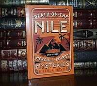 Death on the Nile ABC Murders Five Pigs Agatha Christie New Sealed Leather Bound