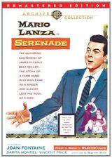 SERENADE (1956 Mario Lanza) Remastered version -  Region Free DVD - Sealed