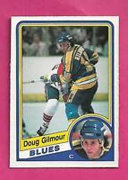 1984-85 OPC # 185 BLUES DOUG GILMOUR  ROOKIE EX-MT CARD (INV# D1789)
