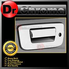 07-13 Chevy Silverado Chrome ABS Tailgate+Keyhole+NO Camera Hole Handle Cover