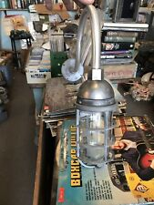 Vintage Industrial Light on Gooseneck Arm -Barn Light Killark