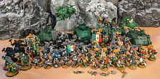 Space Marine Army Partialy Painted