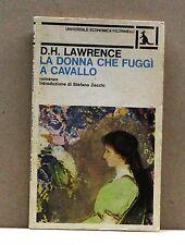 La donna che fuggì a cavallo - D. H. Lawrence [Libro, Feltrinelli edit.]