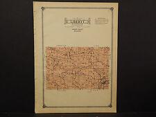 Wisconsin, Vernon County Map, 1915 Liberty Township O2#39