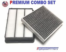 COMBO AIR FILTER + CHARCOAL CABIN FILTER FOR 2016-2018 HYUNDAI TUCSON 1.6L 2.0L